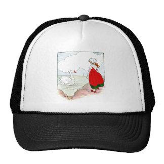 Swan Vintage The Real Mother Goose Trucker Hat