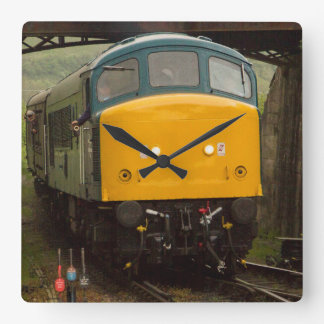 Swanage railway class 45 square wall clock