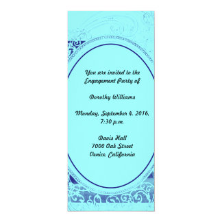 Swanky Engagement Party Invitation