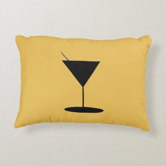 Swanky Martini Glass Decorative Pillow