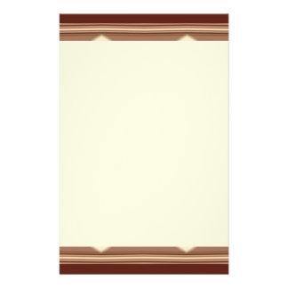 Swanky Western Stripes Stationery Paper