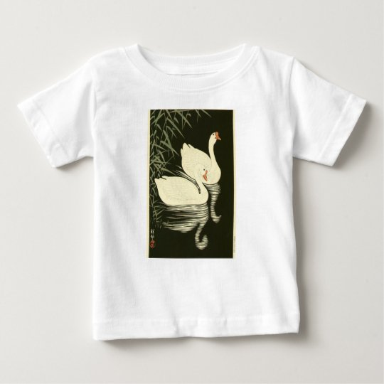 Swans and Reeds Baby T-Shirt