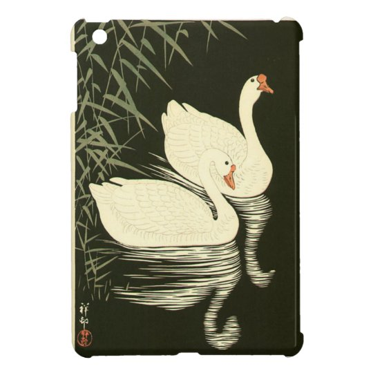 Swans and Reeds Case For The iPad Mini