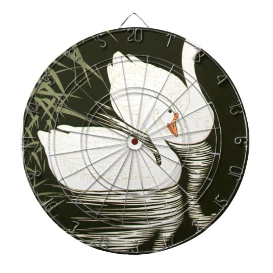 Swans and Reeds Dartboard