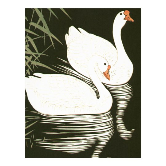 Swans and Reeds Letterhead