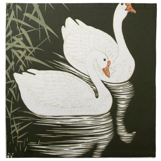Swans and Reeds Napkin