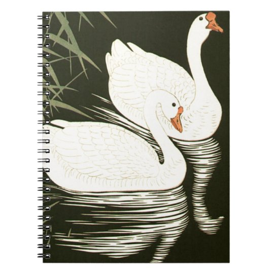 Swans and Reeds Notebooks