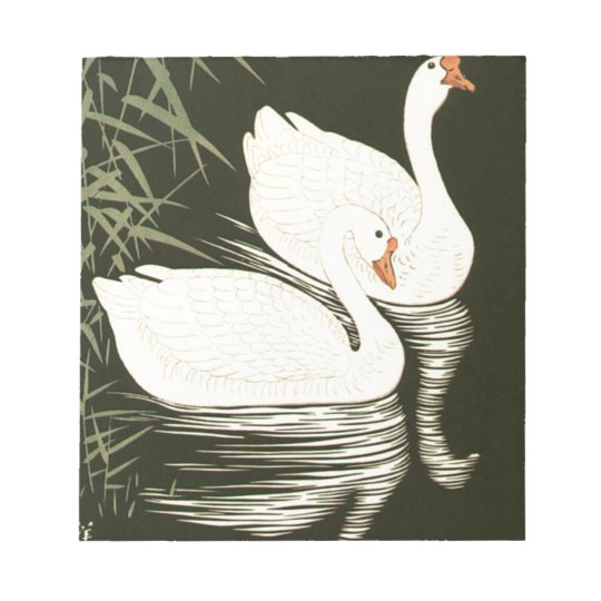 Swans and Reeds Notepads