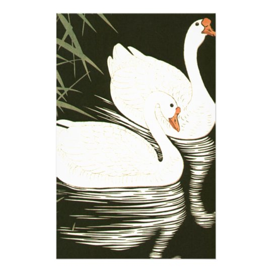 Swans and Reeds Stationery