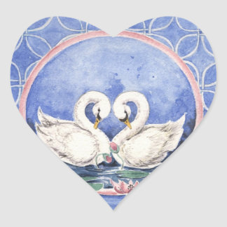 """Swans Eternal Circle"" Sticker"