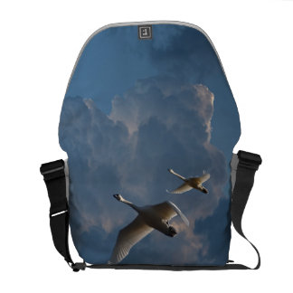 SWANS IN FLIGHT MESSENGER BAGS