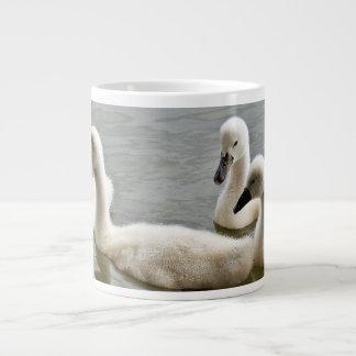 swans in water Mug