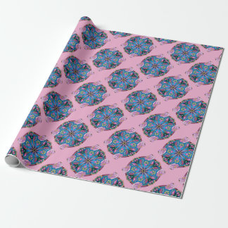 Swans of Pink Wrapping Paper