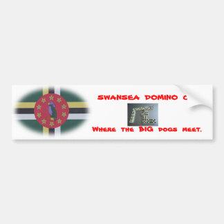 swansea domino club bumper sticker.