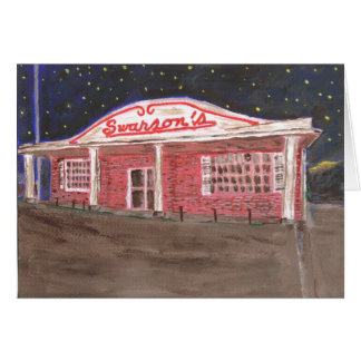 Swanson's Restaurant Card