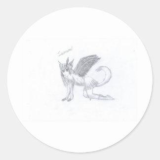 Swansoul Round Sticker