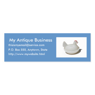 Swap Meet Profile Card Double-Sided Mini Business Cards (Pack Of 20)