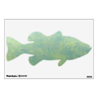 Swarm of Fish Seaweed Wall Sticker