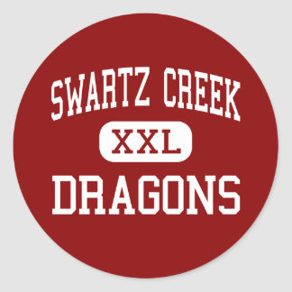 Swartz Creek - Dragons - High - Swartz Creek Classic Round Sticker