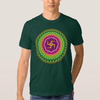 Swastika Pattern T Shirt