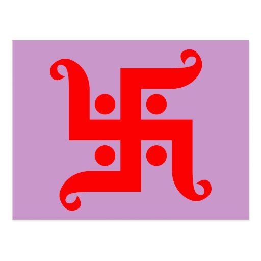 swastika postcard
