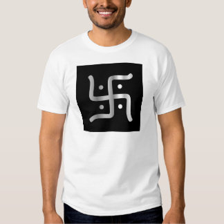 Swastika Symbol of Jainism religion T-shirts