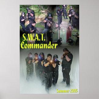 SWAT Commander Poster