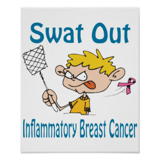 Swat Out Inflammatory-Breast-Cancer Poster