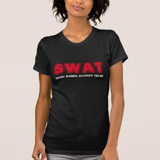 """SWAT: Smart Women Against Trump"" T-Shirt"