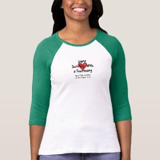 SWAT - Survivor With a Testimony - Zipper Club T-Shirt