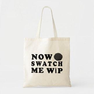 Swatch Me WIP - Yarn Craft Lingo Tote Bag