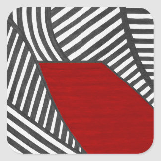 Sway Square Sticker