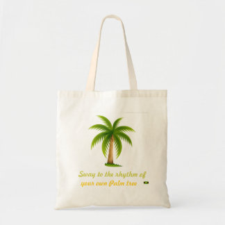 Sway to the Rhythm - Palm tree bag