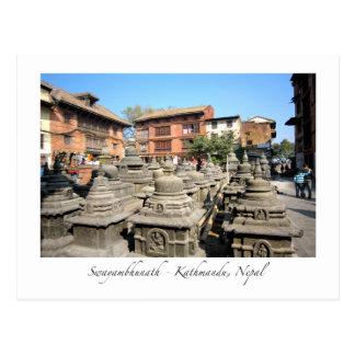 Swayambhunath View Postcard
