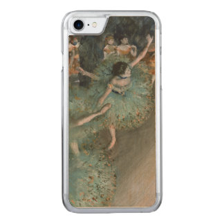 Swaying Dancer, Dancer in Green by Edgar Degas Carved iPhone 7 Case
