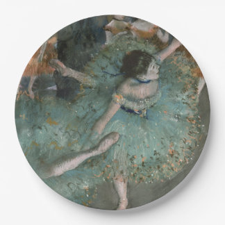 Swaying Dancer - Edgar Degas Paper Plate
