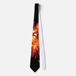 Swaying Flames Tie