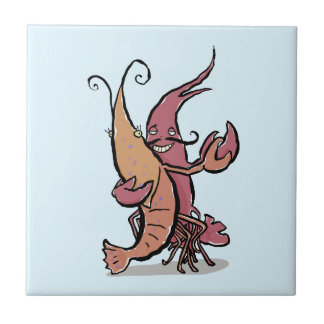 swaying lobsters tile