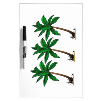 Swaying Palms Dry Erase Board