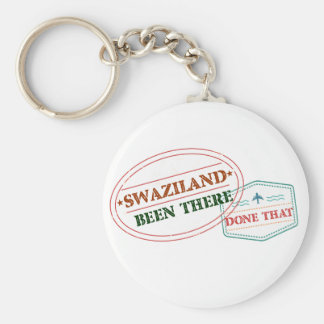 Swaziland Been There Done That Keychain