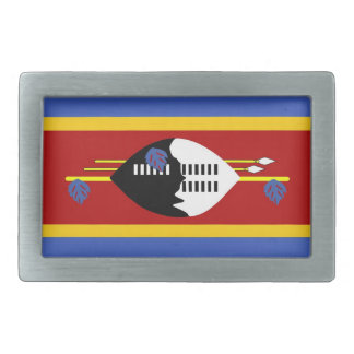 swaziland country flag belt buckle