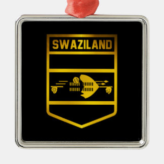 Swaziland Emblem Metal Ornament