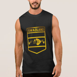 Swaziland Emblem Sleeveless Shirt