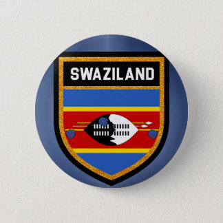 Swaziland Flag 2 Inch Round Button