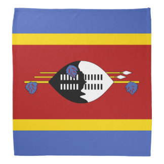 Swaziland Flag Bandana