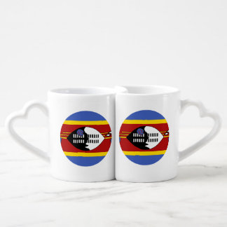 Swaziland Flag Coffee Mug Set