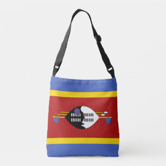 Swaziland Flag Crossbody Bag