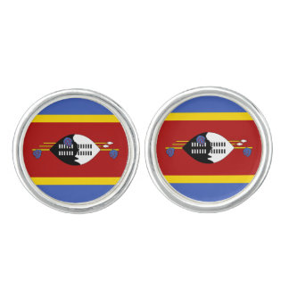 Swaziland Flag Cufflinks