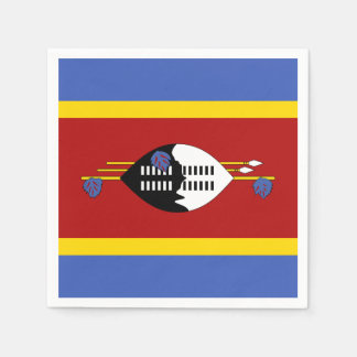 Swaziland Flag Disposable Napkin