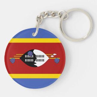 Swaziland Flag Keychain